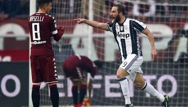 Torino derbisinde Juventus kazandı