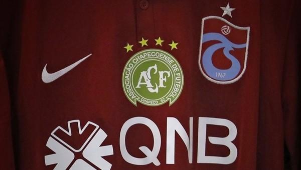Trabzonspor, Chapecoense logosunu formasına ekledi