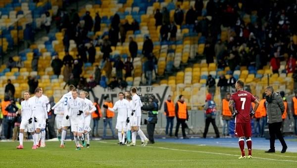 UEFA'dan Dinamo Kiev - Beşiktaş maçı sonrası yeni rezalet