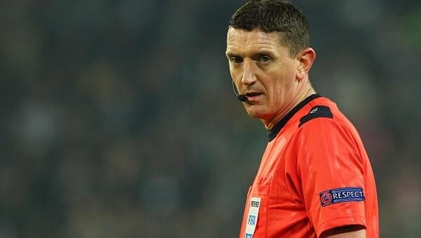 UEFA'nın gözde hakemlerinden biri...