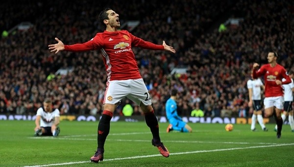 United, Tottenham'ı Mkhitaryan'la devirdi