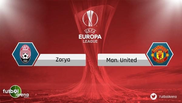 Zorya Luhansk - Manchester United maçı saat kaçta, hangi kanalda?