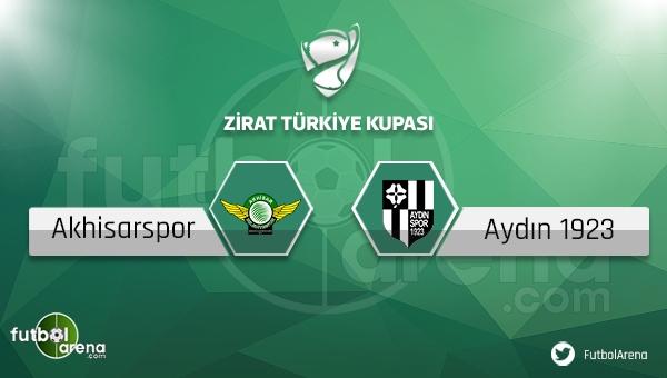 Akhisar Belediyespor - Aydınspor maçı saat kaçta, hangi kanalda?