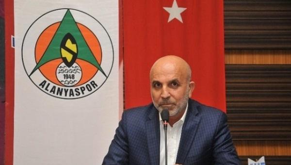 Alanyaspor Başkanı Hasan Çavuşoğlu'ndan teknik direktör açıklaması