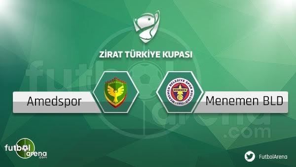 Amed Sportif - Menemen Belediyespor maçı saat kaçta, hangi kanalda?