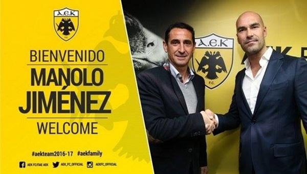 Antalyaspor'un eski teknik direktörü AEK'ten de kovuldu