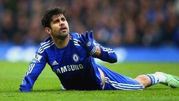 Antrenörünü yumruklayan Diego Costa kadro dışı bırakıldı
