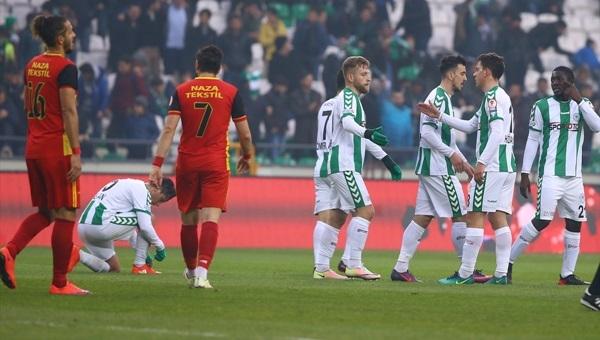 Atiker Konyaspor - Kızılcabölükspor maçı özeti ve golü