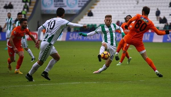 Atiker Konyaspor 2 - 1 Çaykur Rizespor maçı özeti ve golleri