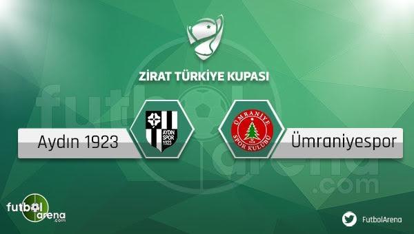Aydınspor 1923 - Ümraniyespor maçı saat kaçta, hangi kanalda?