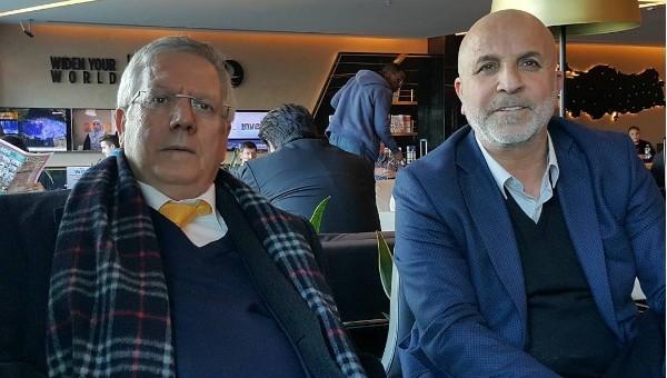 Aziz Yıldırım'dan Alanyaspor başkanı ile transfer görüşmesi