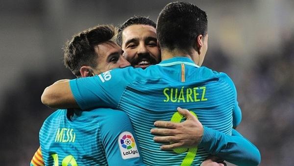 Eibar 0 - 4 Barcelona maçı özeti ve golleri