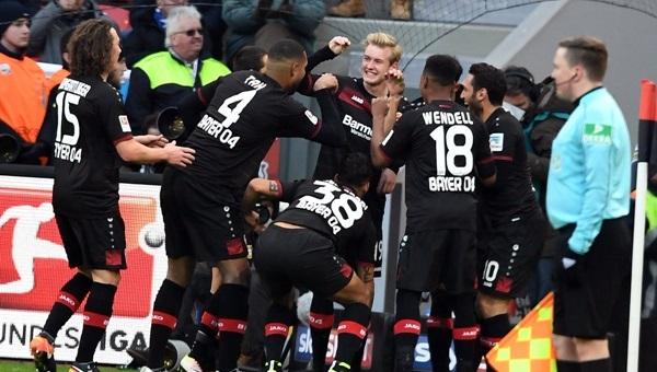 Bayer Leverkusen'de 'Nusret' sevinci