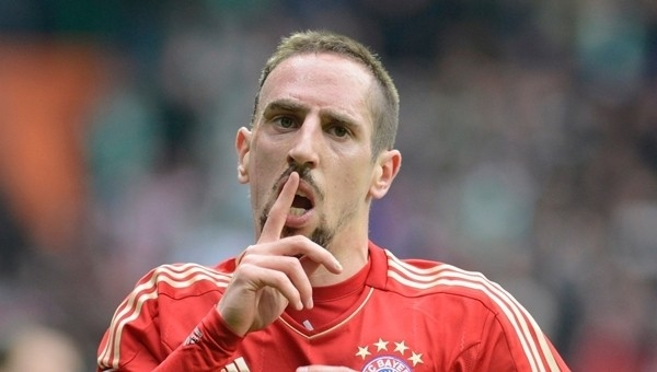 Bayern Münih'ten Galatasaraylı taraftara Ribery cevabı