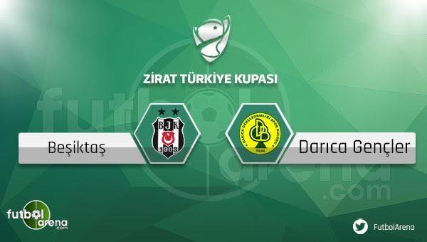 Beşiktaş - Darıca Gençlerbirliği maçı saat kaçta, hangi kanalda?