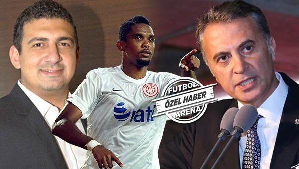 Fikret Orman, Eto'o transferini bitirmek için Antalya'ya gidiyor