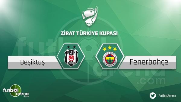 Beşiktaş - Fenerbahçe Ziraat Türkiye Kupası maçı ne zaman, hangi tarihte, nerede, saat kaçta ve hangi kanalda?