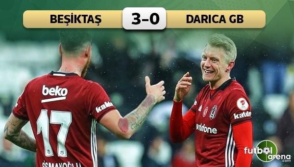 Beşiktaş 3-0 Darıca Gençlerbirliği maç özeti ve golleri