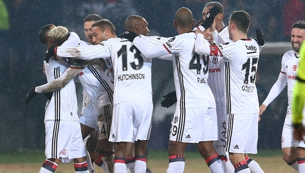 Beşiktaş, Osmanlıspor'a bu sezon ilki yaşattı