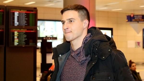 Beşiktaş'ın yeni transferi Matej Mitrovic İstanbul'da