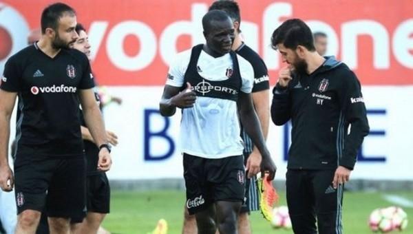 Beşiktaş'ta Aboubakar kampa götürülmedi