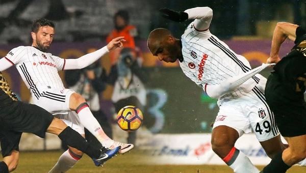 Beşiktaş'ta Babel ve Gökhan Gönül sakatlandı