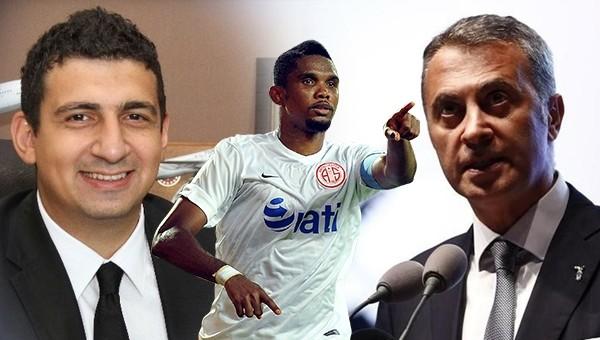 Antalyaspor Başkanı Ali Şafak Öztürk, Samuel Eto'o'yu satmayacaklarını açıkladı
