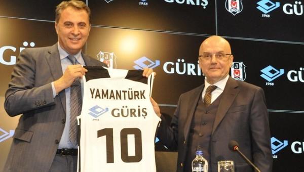 Beşiktaş'ta Tevfik Yamantürk adaylığını açıkladı