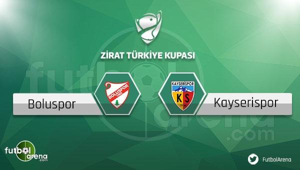 Boluspor - Kayserispor maçı saat kaçta, hangi kanalda?