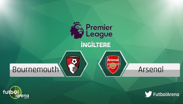 Bournemouth - Arsenal maçı saat kaçta, hangi kanalda?