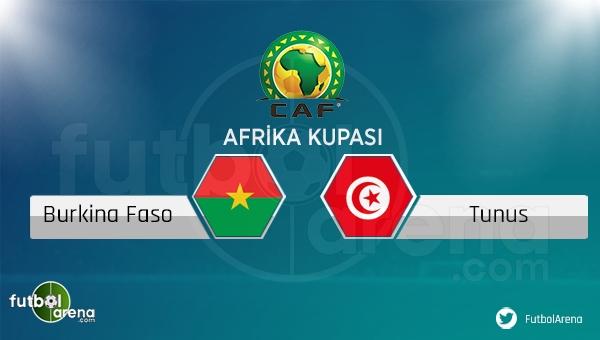 Burkina Faso - Tunus maçı saat kaçta, hangi kanalda?