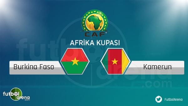 Burkino Faso - Kamerun maçı saat kaçta, hangi kanalda?
