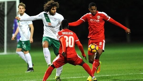 Bursaspor 0 - 0 Skenderbeu maçı özeti izle