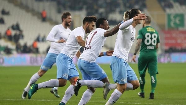 Bursaspor 1-2 Trabzonspor maç özeti ve golleri