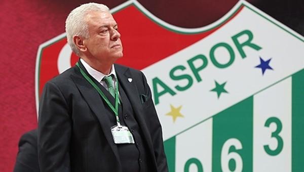 Bursaspor Başkanı Ali Ay'dan transfer açıklaması
