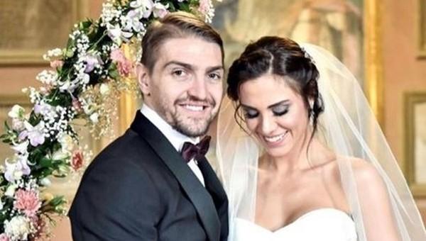 Caner Erkin ile Şükran Ovalı evlendi