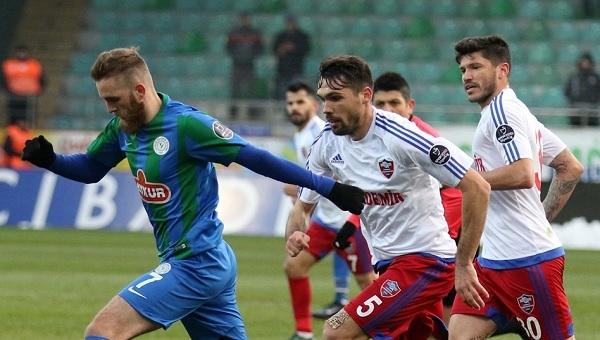 Çaykur Rizespor - Karabükspor maçı ilk yarısında dikkat çeken ayrıntı