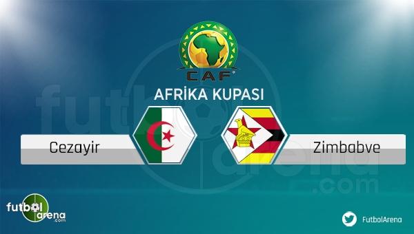 Cezayir - Zimbabve maçı saat kaçta, hangi kanalda?