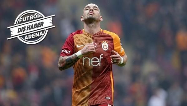 Wesley Sneijder Çin'e mi gidecek?