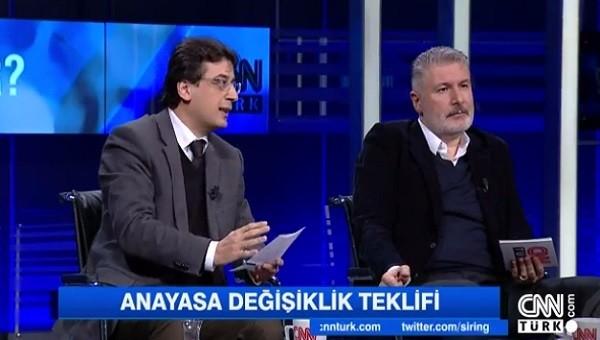 CNN Türk'te anayasa değişikliğine Aziz Yıldırım örneği