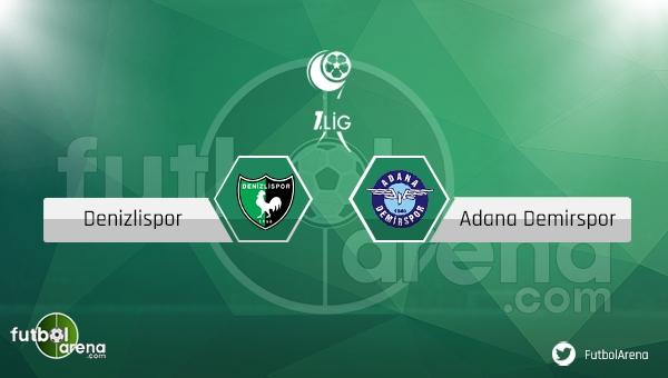 Denizlispor - Adana Demirspor maçı saat kaçta, hangi kanalda?
