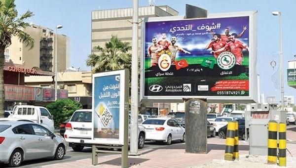 El İttifak - Galatasaray maçı öncesi Arabistan'da büyük heyecan