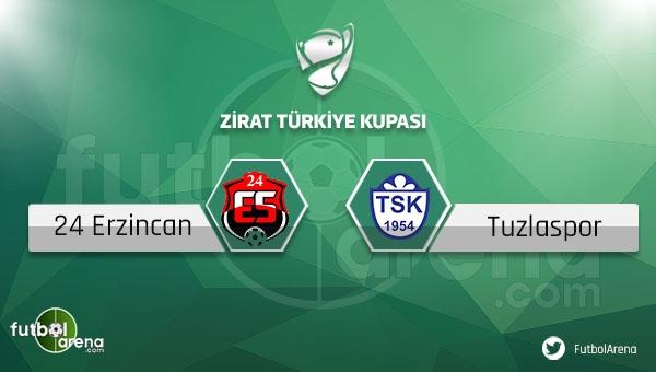 Erzincanspor - Tuzlaspor maçı saat kaçta, hangi kanalda?
