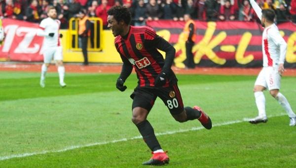 Eskişehirspor 3 - 2 Balıkesirspor maçı özeti ve golleri