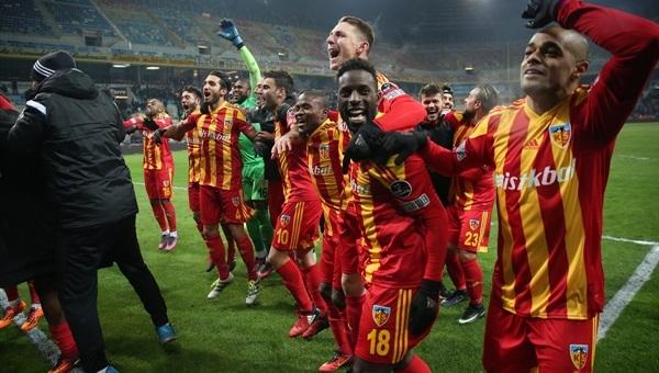 Fenerbahçe, isabetli şut atamayan Kayserispor'dan 4 gol yedi