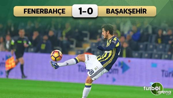 Fenerbahçe 1-0 Medipol Başakşehir maç özeti ve golleri