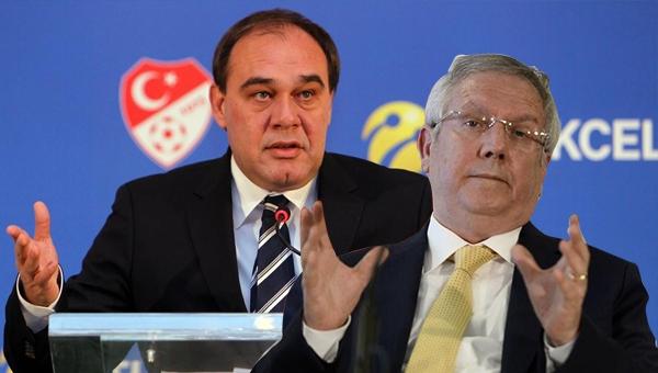 Fenerbahçe'den Yıldırım Demirören'e gönderme