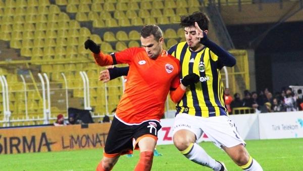 Fenerbahçe'nin serisi Adanaspor'a karşı bozuldu