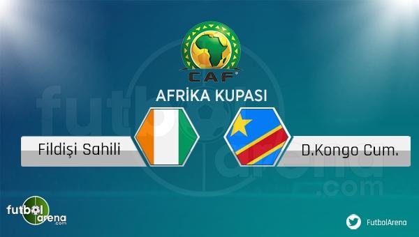 Fildişi Sahili - Kongo maçı saat kaçta, hangi kanalda?