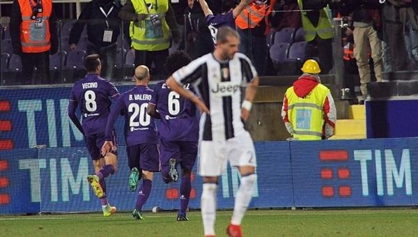 Fiorentina, Juventus'u devirdi: 2-1